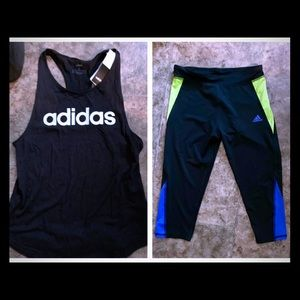 Adidas Workout set NWT